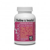 Choline and Inozitol - Bitartrate and Inositol - 125 mg + 125 mg - 100 capsules