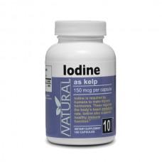 Iodine 150 mcg - 100 capsules
