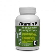 Vitamin P - bioflavonoids - 500 mg per capsule - 60 capsules