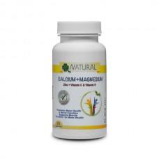CalMag - calcium + magnesium + zinc + C + D3 - 60 capsules