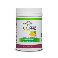 CalMag Lemon - Calcium + Magnesium + C - Powder - 200 g