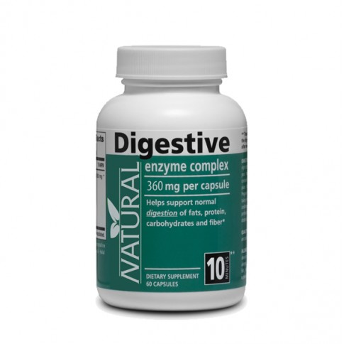 Digestive enzymes - 360 mg - 60 capsules