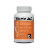 Vitamin A&D - 10 000/400 IU - 100 tablets