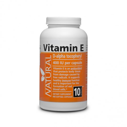 Vitamin E 400 IU natural - 400 capsules