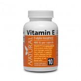 Vitamin E 400 IU natural - 100 capsules