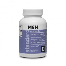 MSM - organosulfur - 500 mg - 100 capsules