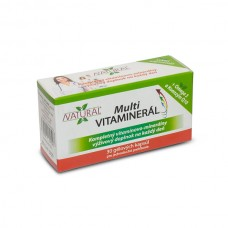 MULTI Vitamineral - 180 capsules - pack of 5 + 1 boxes for free