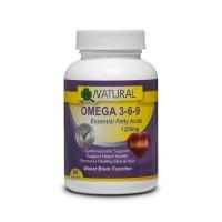 Omega 3-6-9 - 1200mg - 60 capsules