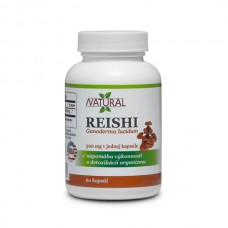 Reishi - Ganoderma lucidum 500mg - 60 pills.
