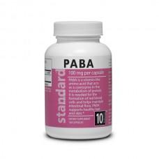 Vitamin B10 PABA - 100 mg - 100 capsules