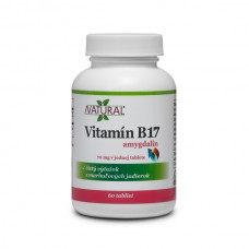Vitamin B17 - Amygdalin - 70mg - 60 tablets