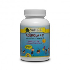 Vitamin C + Acerola for kids - 90 tablets