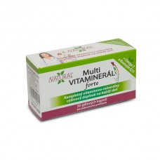 MULTI Vitaminer FORTE - 180 capsules - pack of 5 + 1 boxes for free